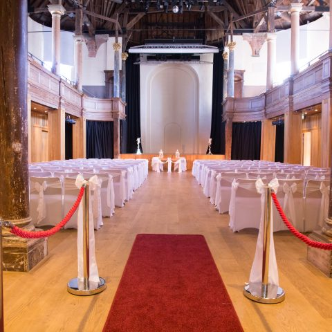 St Georges Theatre Weddings Hall